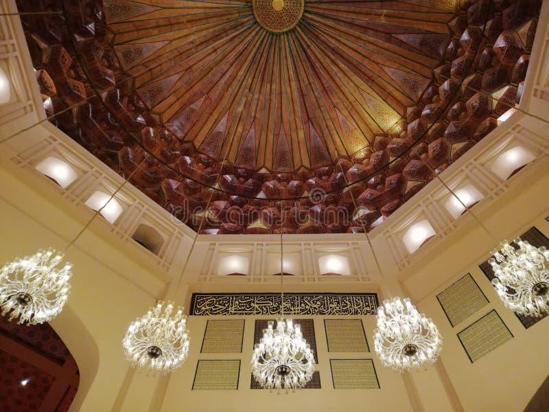 Grande Jamia Mosque, città di Bahria, Lahore, Pakistan immagini stock