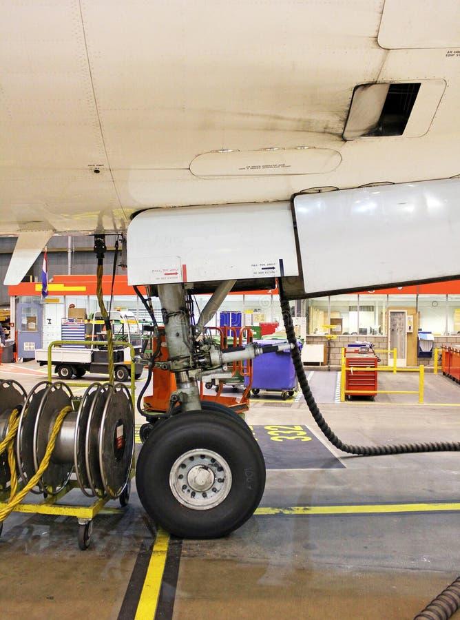 Grande jet del radiatore anteriore immagine stock libera da diritti