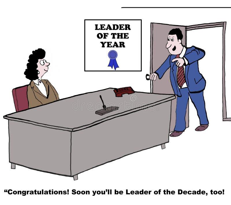 Grande líder ilustração do vetor