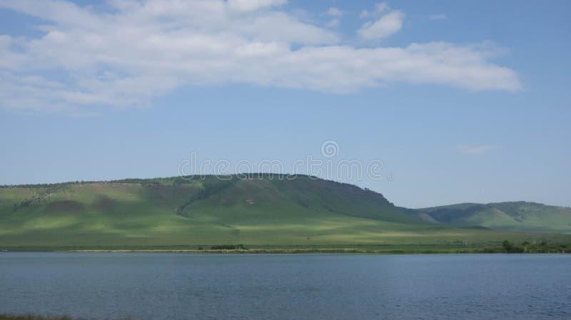 Grande lago immagini stock