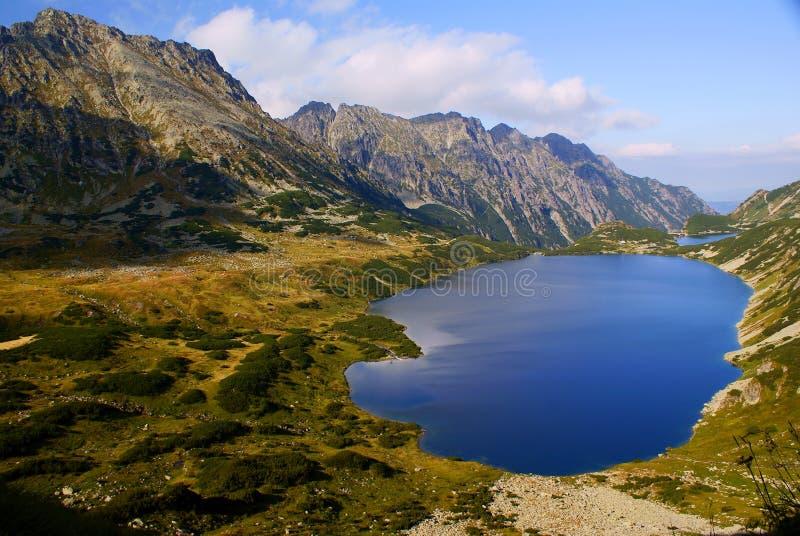 Grande lago imagens de stock