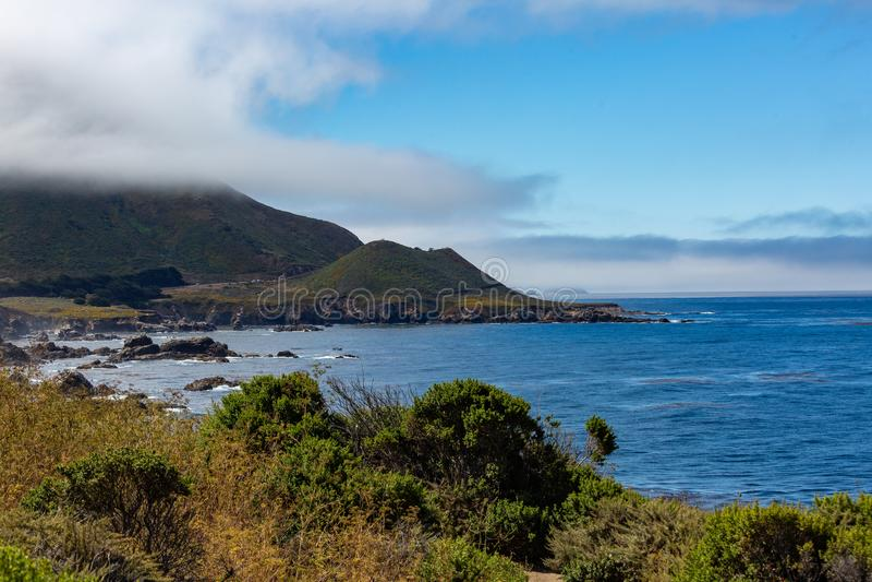 Grande litorale di Sur immagini stock libere da diritti