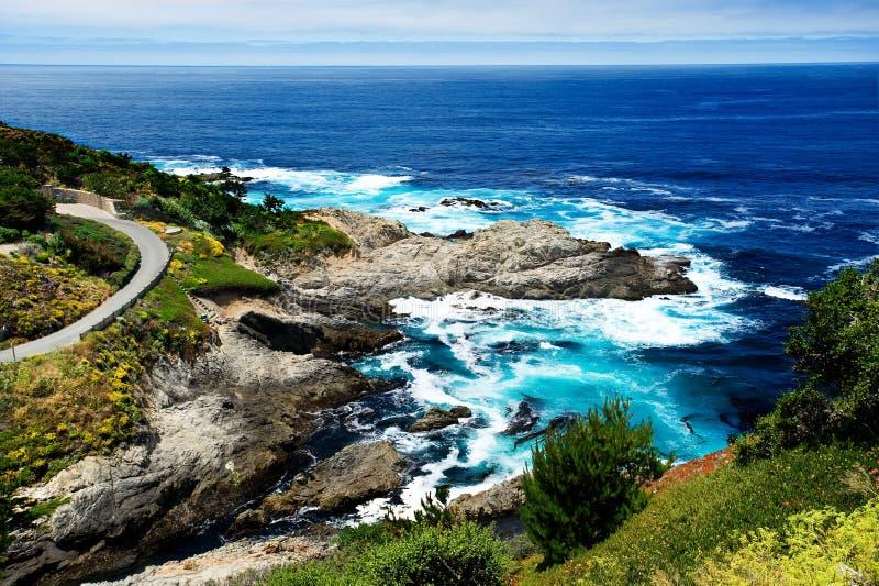Grande litorale di Sur fotografie stock libere da diritti