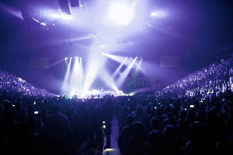 Grande Live Music Concert fotografia stock libera da diritti