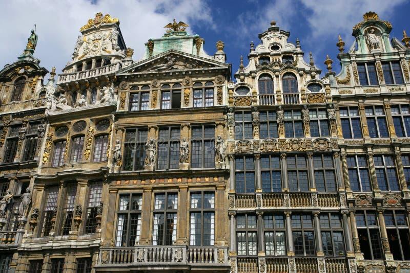 Grande-Lugar do La em Bruxelas fotos de stock royalty free