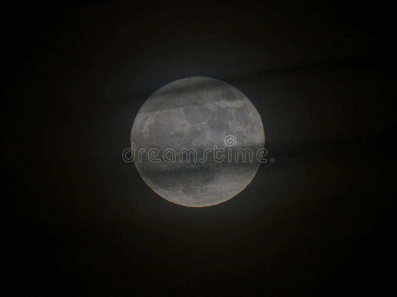 Grande lune grise images stock