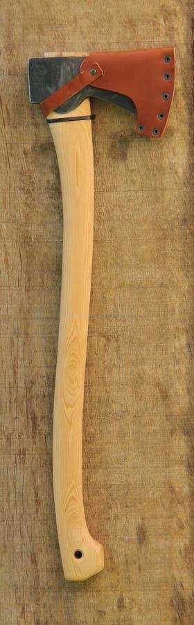 Grande machado do felling da árvore fotos de stock