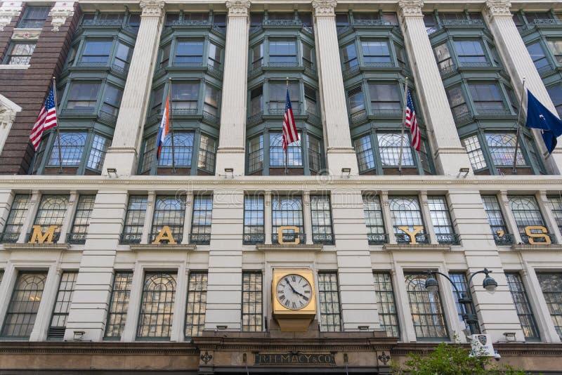 Grande magazzino del ` s di Macy in New York immagini stock libere da diritti