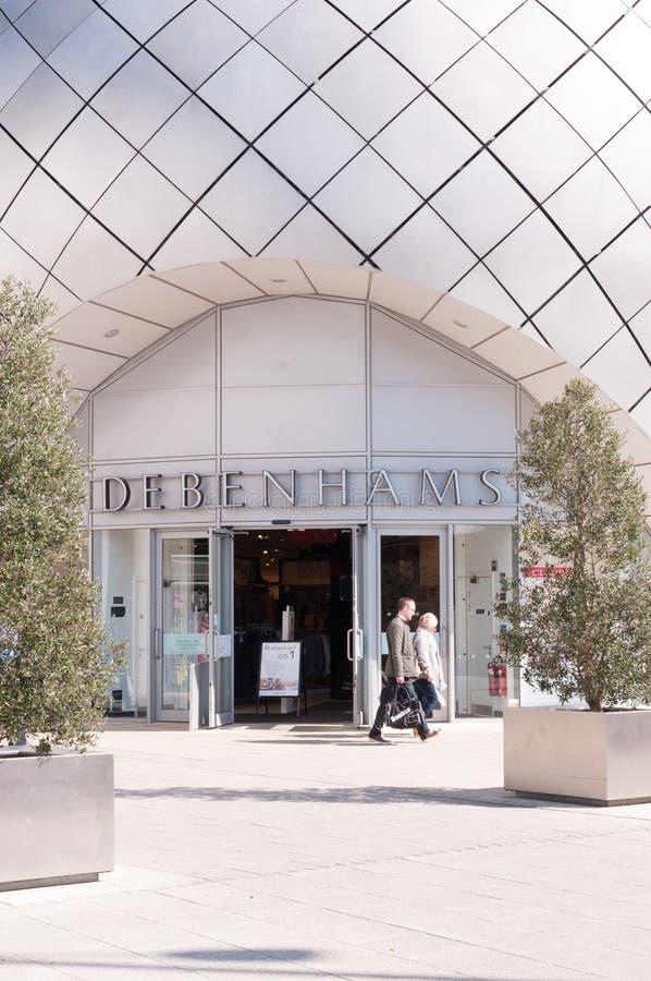 Grande magazzino di Debenhams fotografie stock