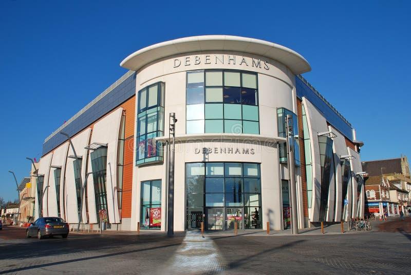 Grande magazzino di Debenhams, Ashford fotografia stock