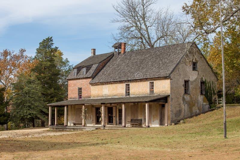 Grande magazzino storico, villaggio di Batsto, New Jersey immagine stock libera da diritti