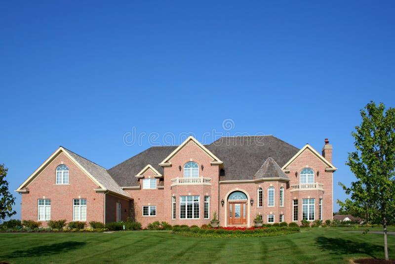 Grande maison photographie stock