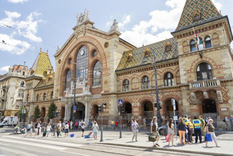 Grande mercato Corridoio, Budapest, Ungheria fotografia stock
