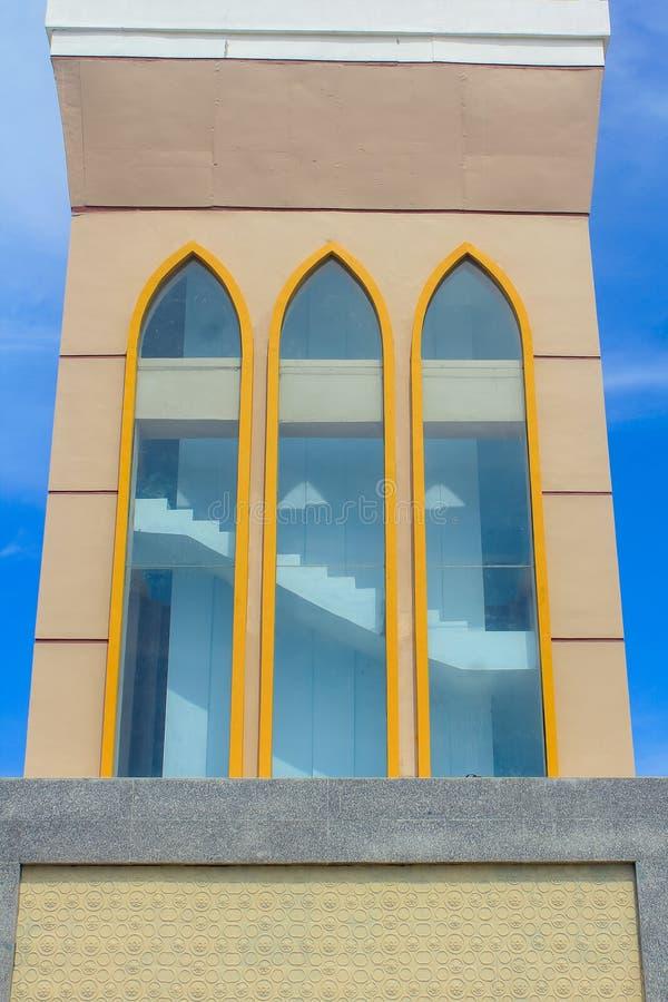 A grande mesquita de Indramayu Java Indonesia ocidental foto de stock royalty free