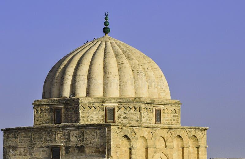 Grande mesquita de Kairouan, Tunísia fotos de stock royalty free