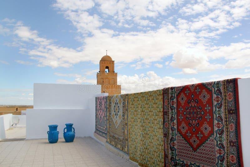 Grande mesquita - Kairouan foto de stock