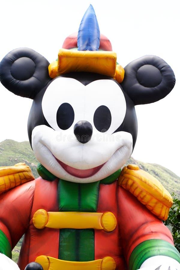 Grande Mickey Mouse Gonfiabile Fotografia Editoriale