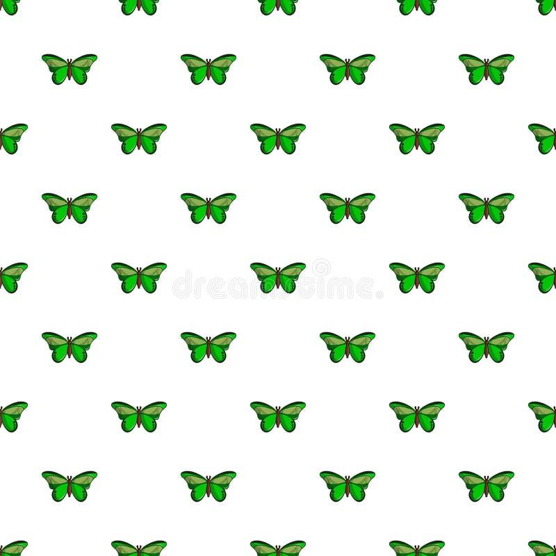 Grande modello mormonico della farfalla senza cuciture illustrazione di stock