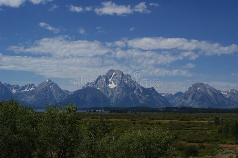 Grande montagne photographie stock