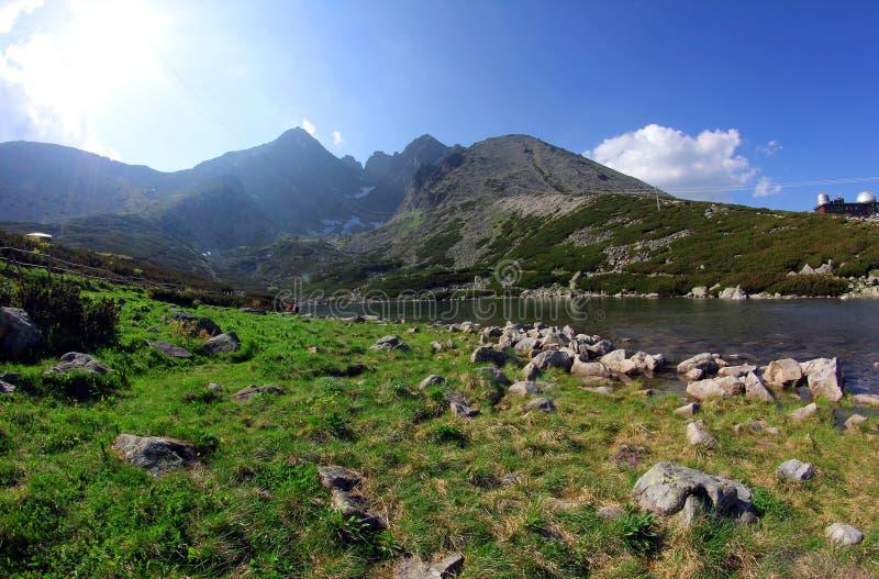 Grande montagne en Slovaquie images libres de droits