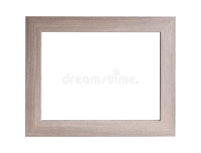 Grande moquerie en bois d'isolement vers le haut de cadre image stock