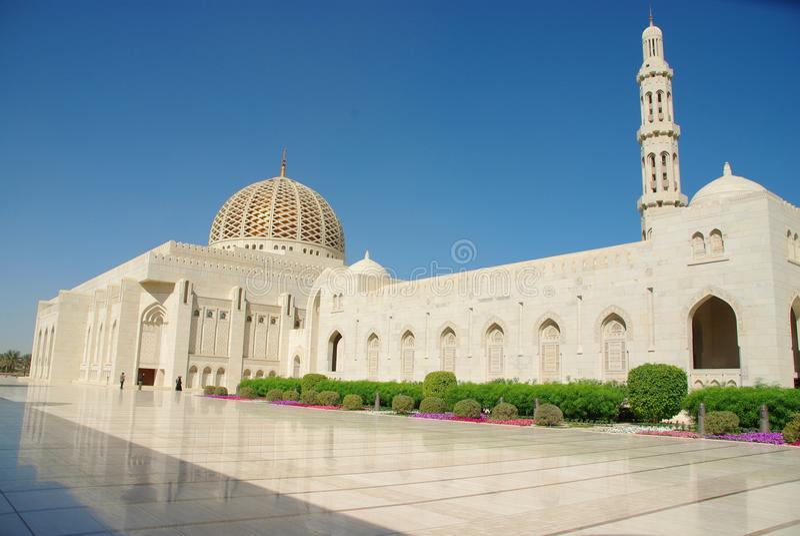 Grande moscato della moschea fotografia stock libera da diritti