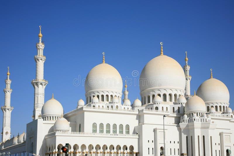 Grande moschea Ahu Dhabi fotografie stock libere da diritti