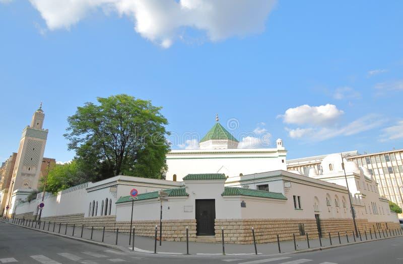 Grande moschea di Parigi Francia fotografia stock