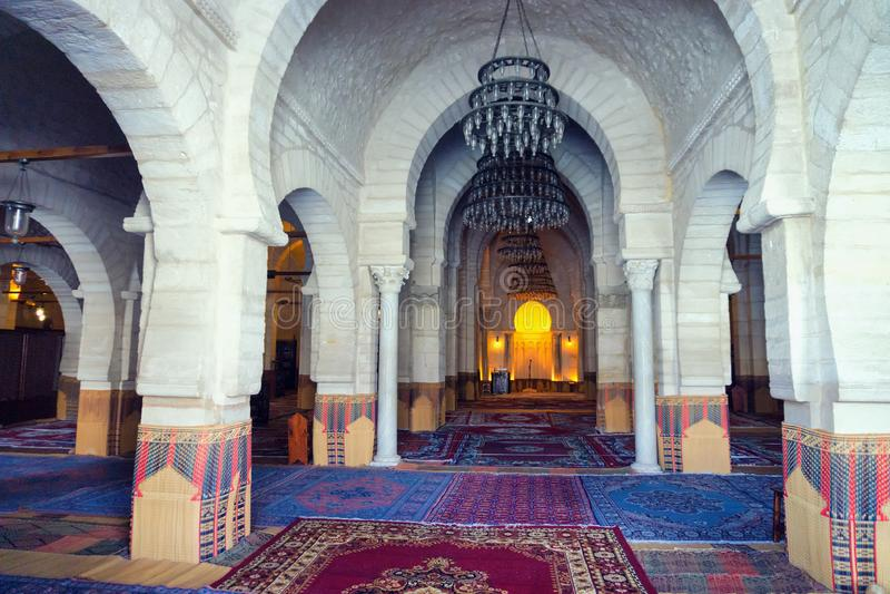 Grande moschea di Susa, Tunisia immagini stock libere da diritti