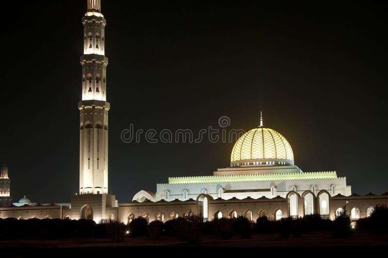 Grande moschea Oman immagini stock