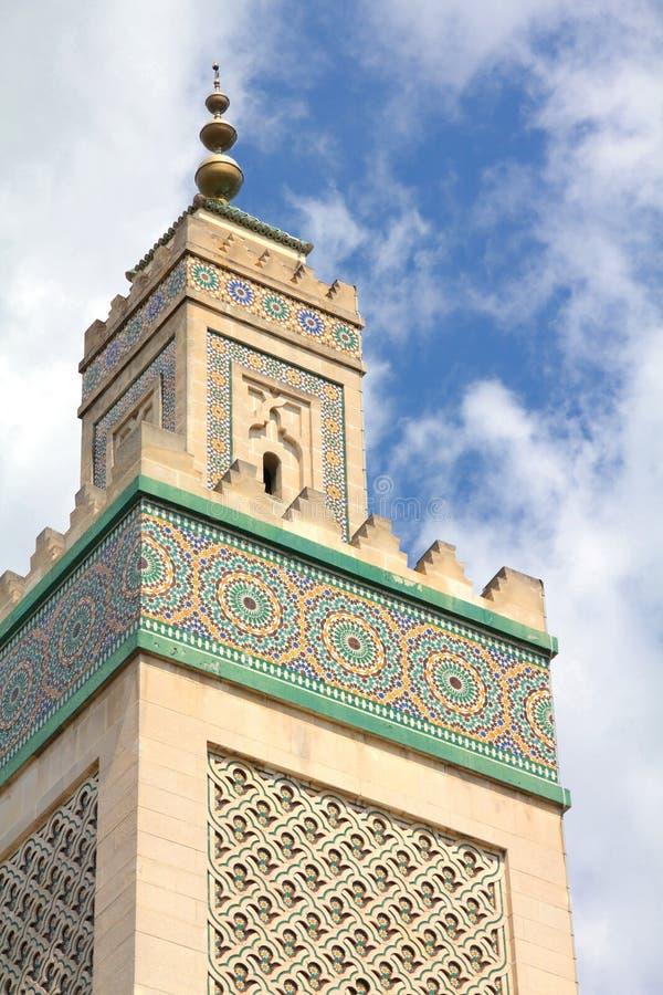 Grande moschea, Parigi immagini stock
