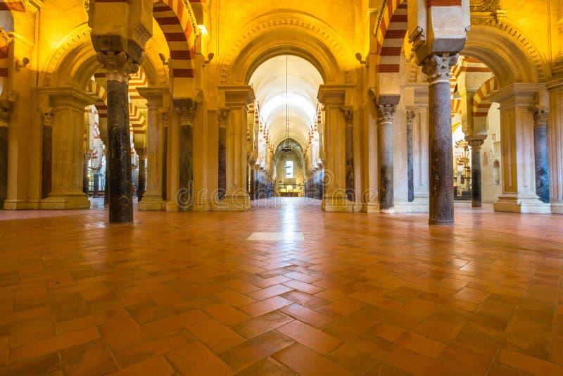 Grande mosquée Catedral De Cordoue photos stock