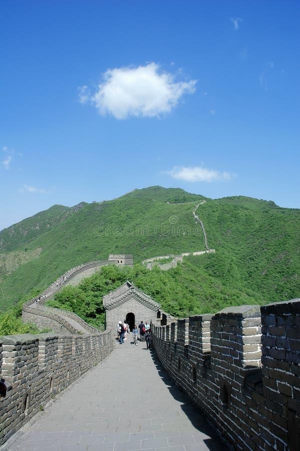 Download Grande Muraglia immagine stock. Immagine di miracolo, nube - 3889737