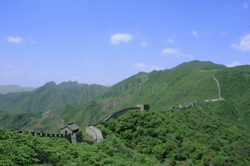 Download Grande Muraglia immagine stock. Immagine di corsa, nube - 3889747