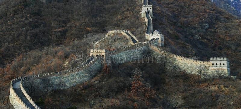 Download Grande Muraglia fotografia stock. Immagine di grigio, vecchio - 7312132