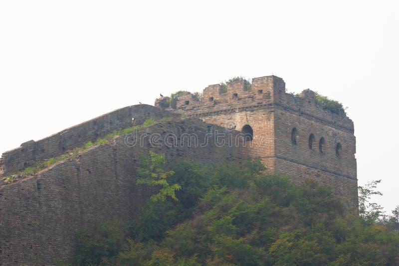 Grande muraglia selvaggia fotografie stock libere da diritti