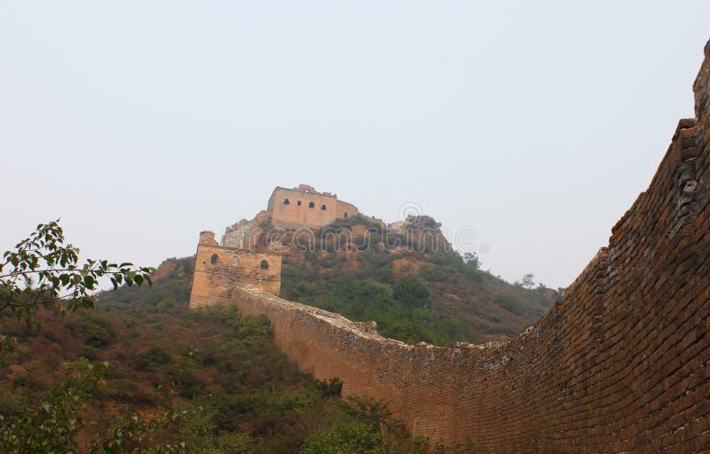 Grande muraglia selvaggia immagine stock