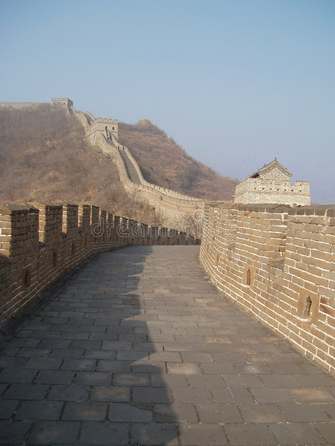 Grande Muraille 1 images libres de droits
