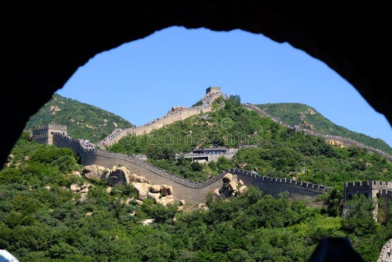 Grande Muraille de Badaling photographie stock