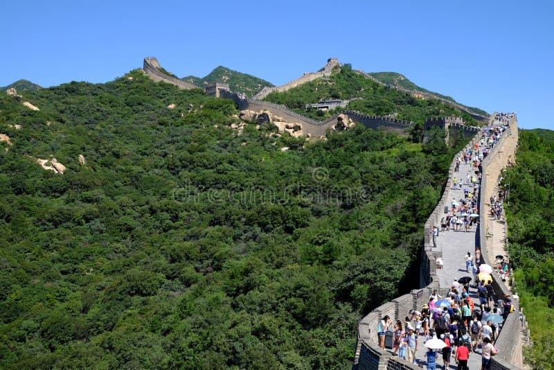 Grande Muraille de Badaling image libre de droits