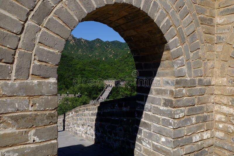 Grande Muraille de Badaling photo libre de droits