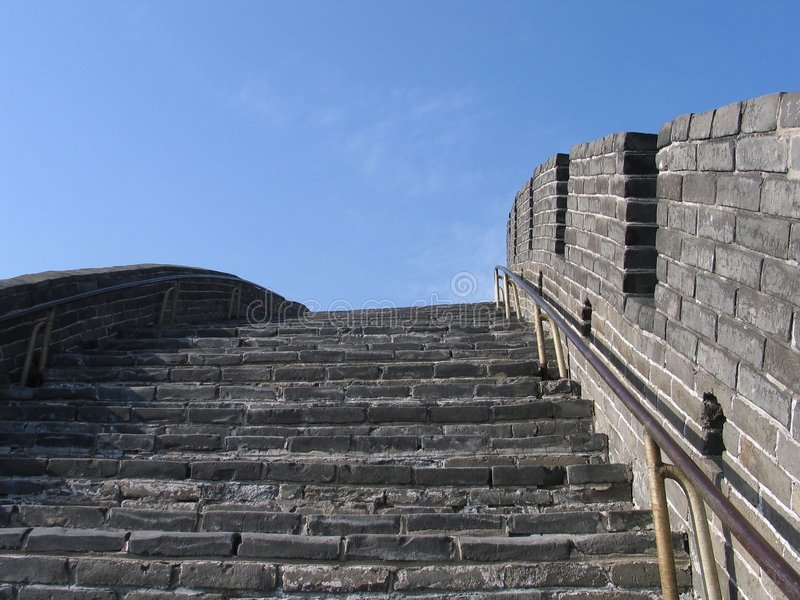 Download Grande Muraille De China-6279 Image stock - Image du attraction, opérations: 54623