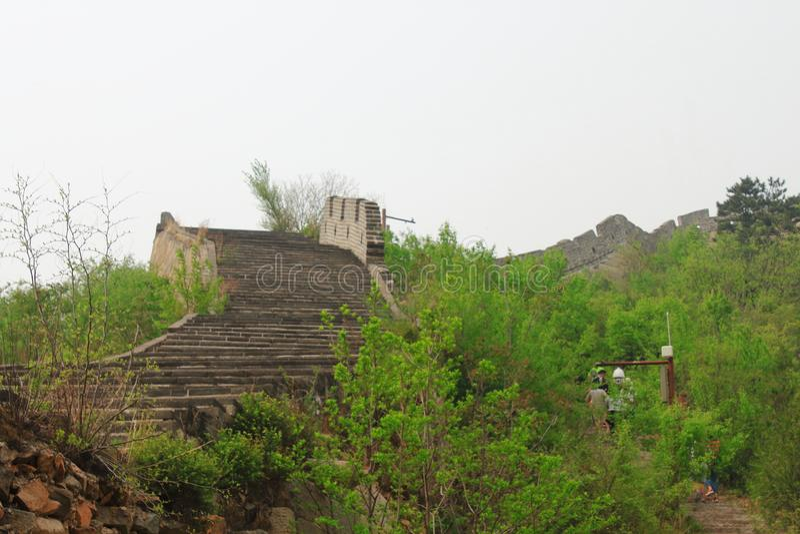 Grande Muraille de Huanghuacheng photo stock