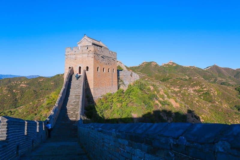 Grande Muraille de Jinshanling photographie stock