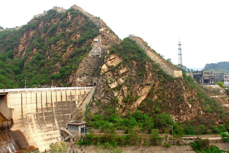 Grande Muraille de Lakeside photo libre de droits