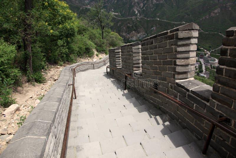 Grande Muraille, Pékin Photos libres de droits