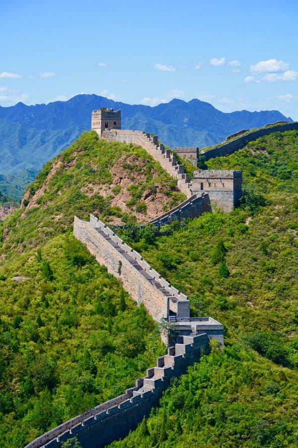 Grande Muralha China foto de stock