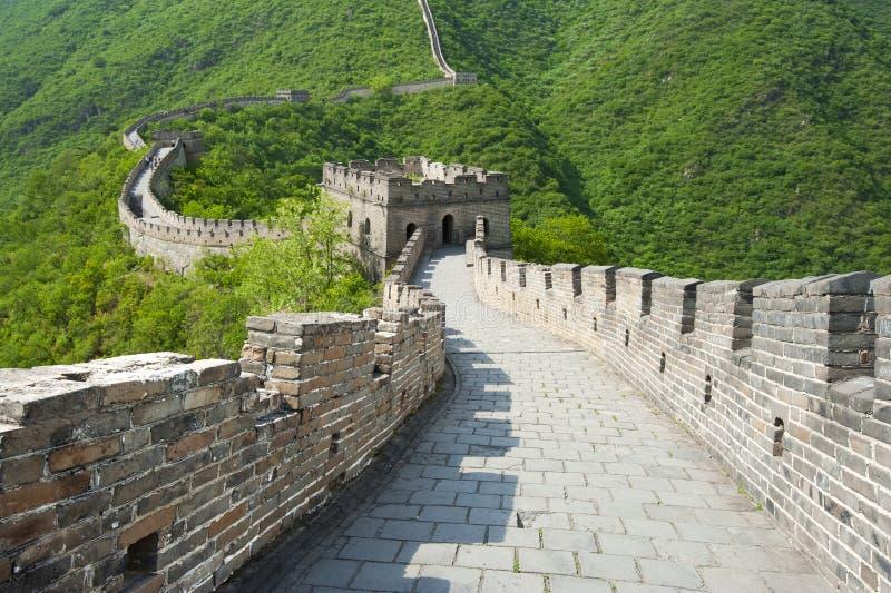 Grande Muralha de China fotografia de stock royalty free