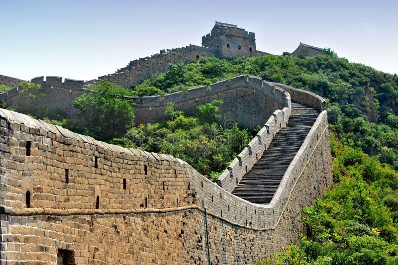 Grande Muralha de China (imagem de HDR) imagem de stock