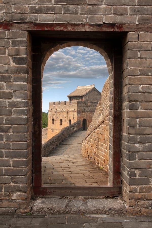 Grande Muralha em China imagem de stock royalty free